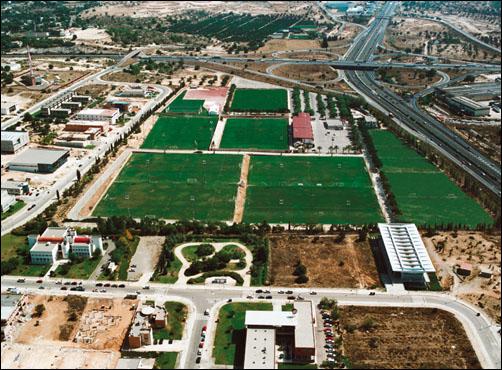 Tréninková hřiště Ciudad Deportiva